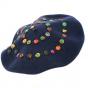 Béret Basque Création Boutons Multicolores Laine - Traclet