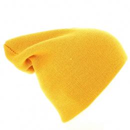 Bonnet Long Acrylique Jaune - Beechfield