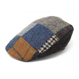 Casquette plate patchwork hiver - Hanna hats