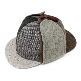 Casquette patchwork -  Sherlock Holmes - Hanna Hats