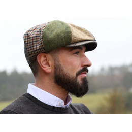 Casquette irlandaise Patchwork - Hanna hats