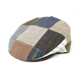Casquette plate patchwork d'été - Hanna hats