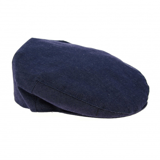 Casquette plate en jean taille 58