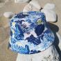 Bob Blue Jungle Coton Bleu - Le Chapoté Paris