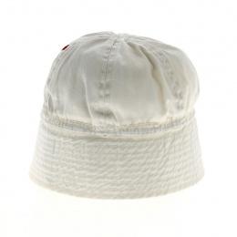 Petit Bob Marin Enfant Coton Blanc - Traclet