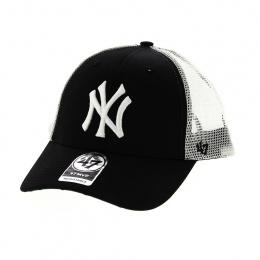 Casquette Trucker NY Yankees Noir & Vert - 47 Brand