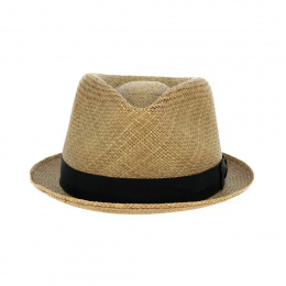 copy of Chapeaux Trilby Berle Imitation Paille Marron - Bailey of Hollywood