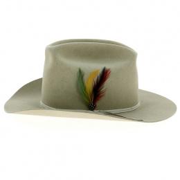 Chapeau Cowboy Olly Feutre Poil Sable - Stetson