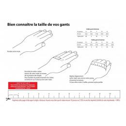Mitaines de Conduite Cuir & Coton Noire - Glove Story