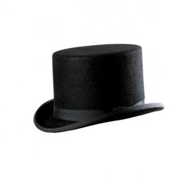 Chapeau haut de forme feutre poil