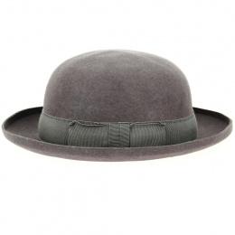 copy of Bowler hat - Grey Wool felt