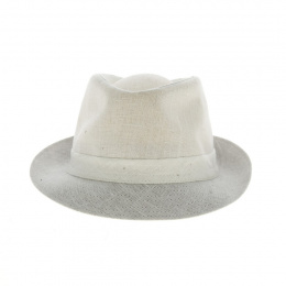 copy of Linen trilby hat