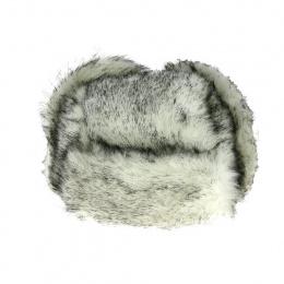 copy of Toque en fourrure acrylique-blanche