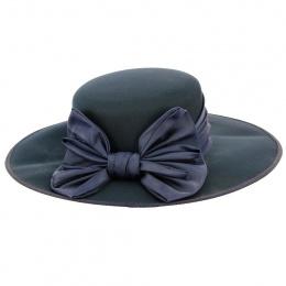 Chapeau de Cérémonie St-Jersed Bleu Marine - Traclet