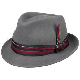 Chapeau trilby Le Falio Gris