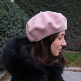 The Classic Light Pink French Beret- Le Béret Français Le Béret Français