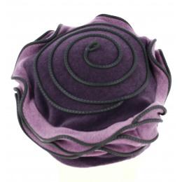 Béret Polaire Femme Lila Violet - Traclet