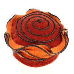 copy of Beret knit Red