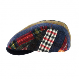copy of Cholet Patchwork Cap Red Wool-Traclet