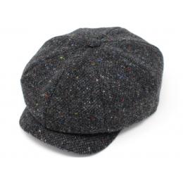 copy of Casquette Irlandaise Laine Vierge Marron Chiné - Hanna Hats